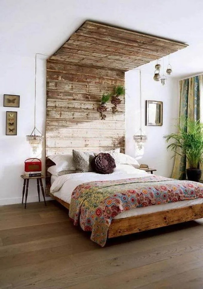 Interesting-Boho-Chic-Bedroom