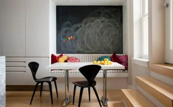 10 Cool Dining Room Designs With a Chalkboard Wall