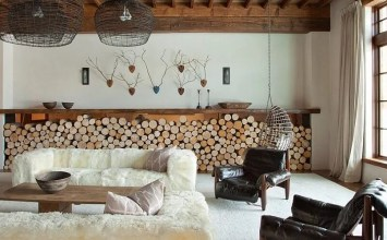 10 Creative Firewood Storage Ideas for the Living Room