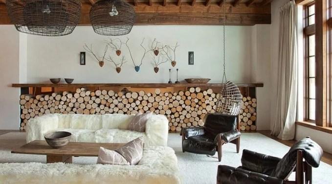 Open Display Firewood storage