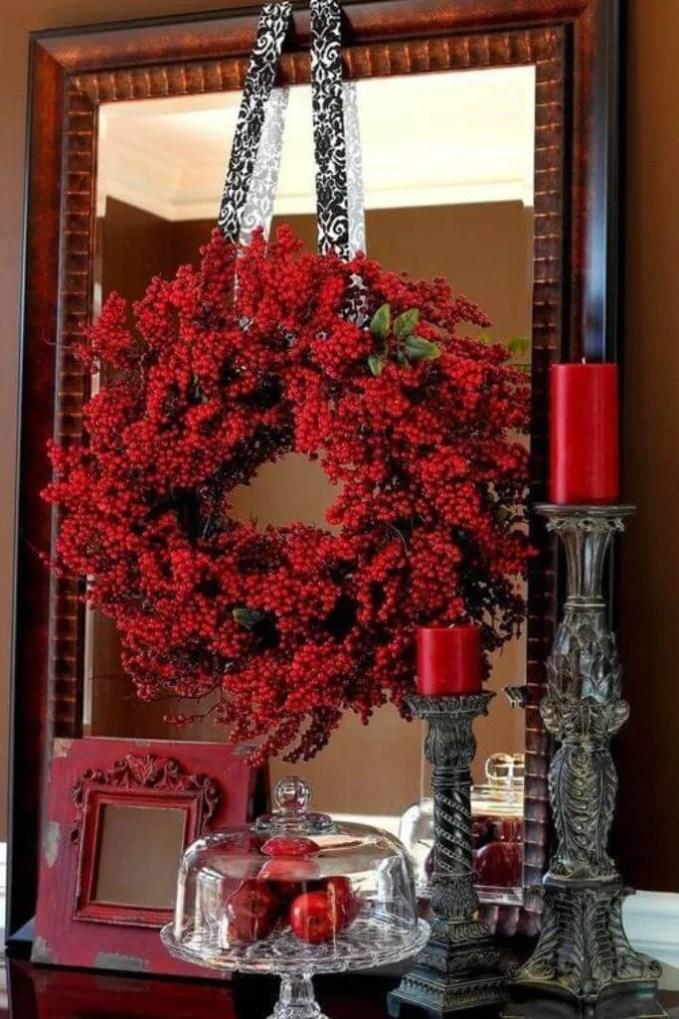 Opulent Hot Red Decor