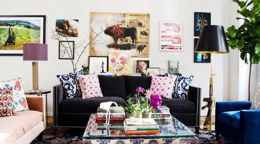 8 Chic Living Rooms With Dazzling Accent Pillows - https ...