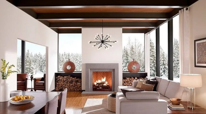 10 Creative Firewood Storage Ideas for the Living Room ...