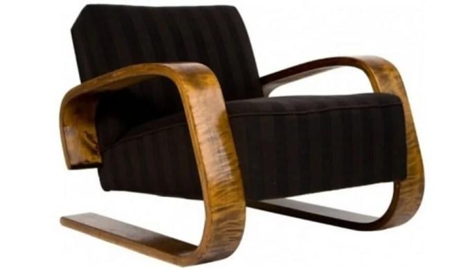 Vintage Alvaro Aalto Accent Chair