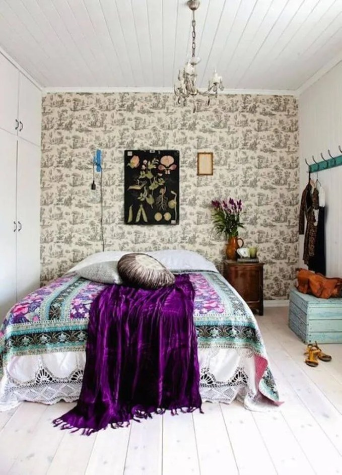 Whimiscal-Boho-Chic-Bedroom