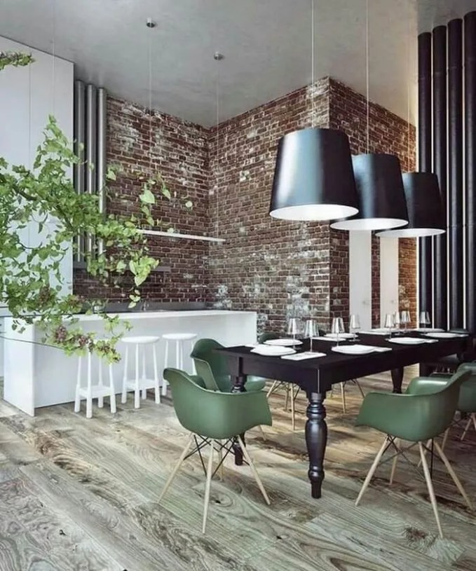 Most Lucrative Dining Room Interior Design Ideas To Beauty: 12 Elegant Masculine Dining Room Designs To Wow