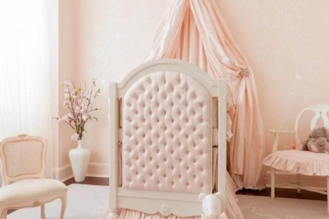 Baby Pink Princess Bedroom