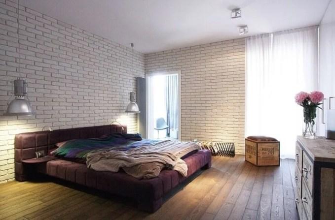 Bright Indsutrial Chic Bedroom