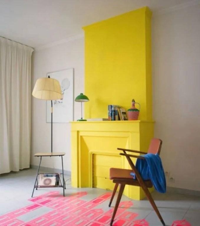 Color Block Living Room