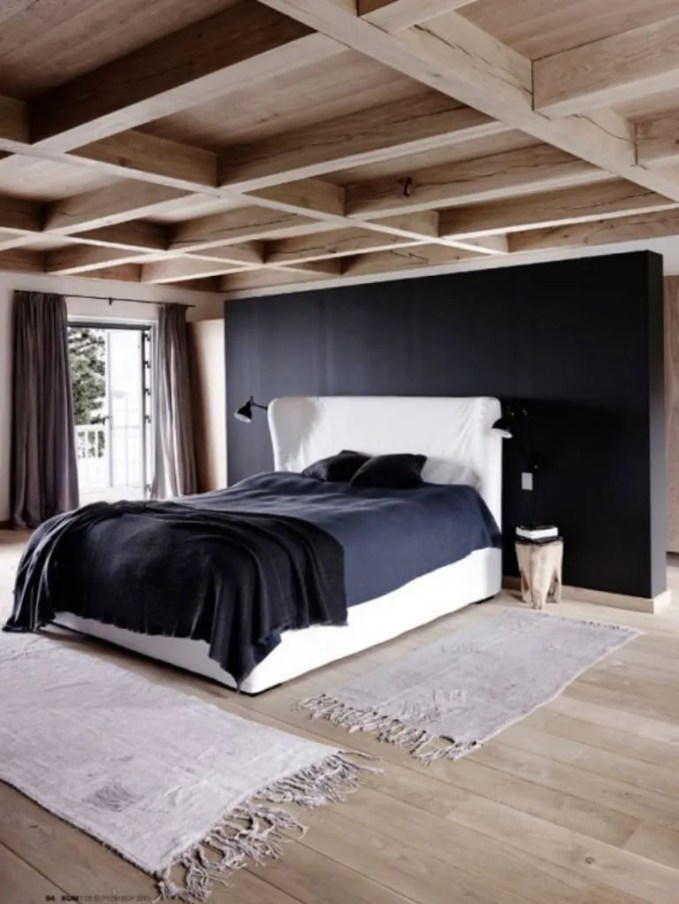 Contemporary Challet Bedroom