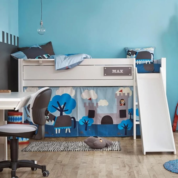 Knight Bunk Bed With Slide