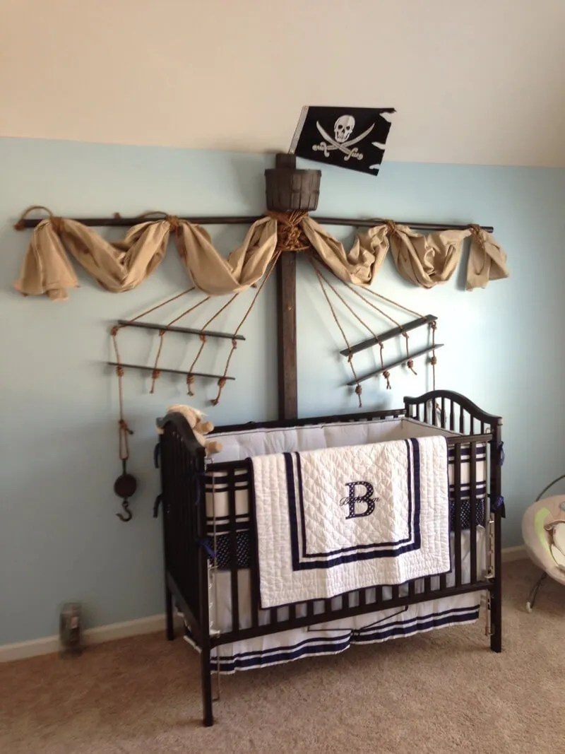 8 Fun Pirate Themed Bedroom Designs For Kids Https