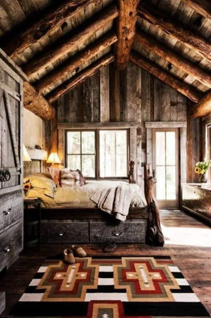 Rustic Challet Bedroom