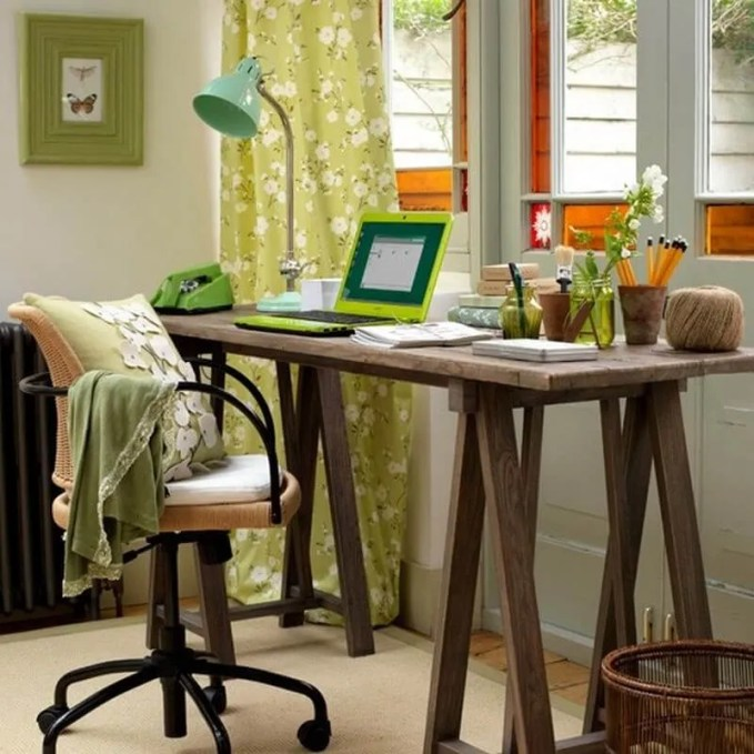 fresh-home-office-decor-to-bring-spring-to-your-home-21