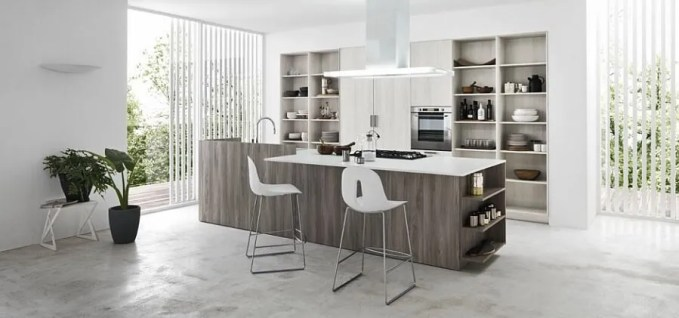 Natural COntemporary Kitchen