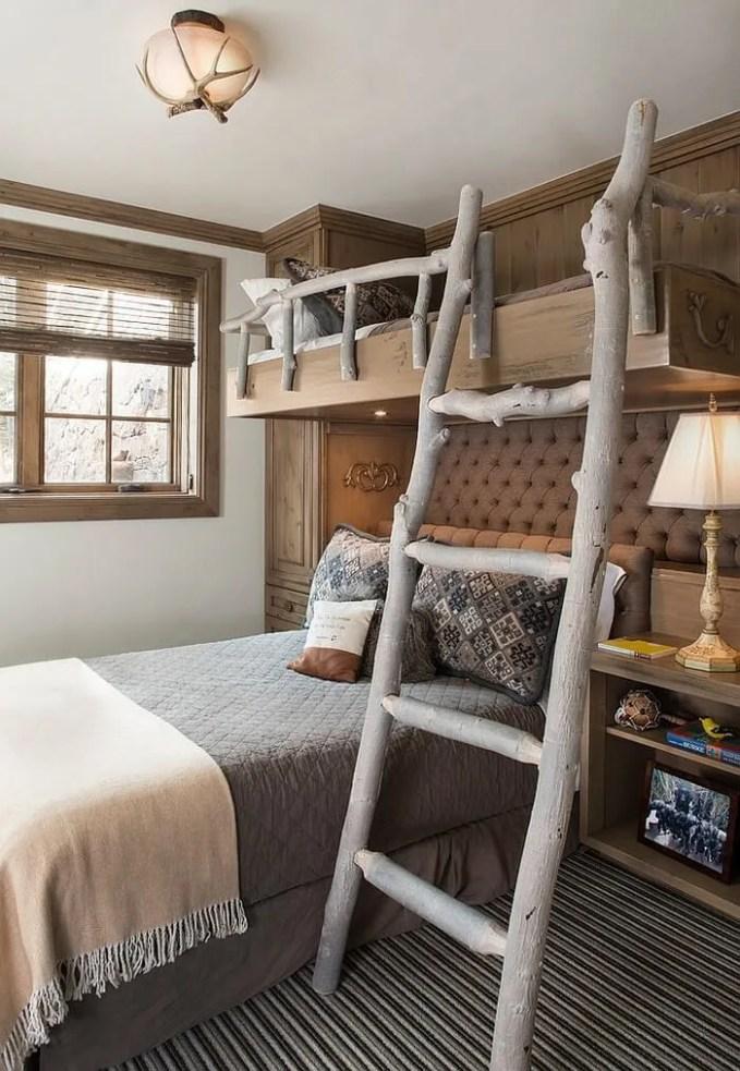 Neutral Rustic Kid's Bedroom