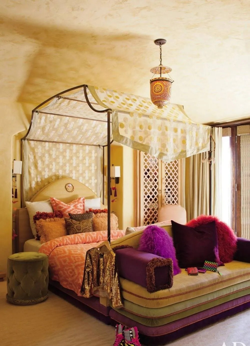 8 Bohemian Chic Teen Girl's Bedroom Ideas - https ... on Boho Bedroom  id=48364
