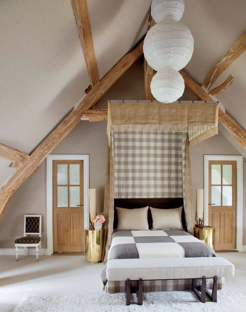 8 farmhouse inspired bedroom designs - https://interioridea/