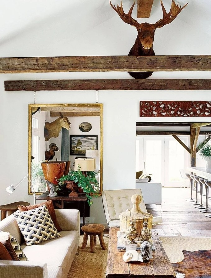Chic Farmhouse Inspired Living Room