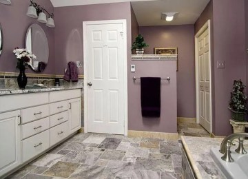 10 Charming Purple Bathroom Design Ideas