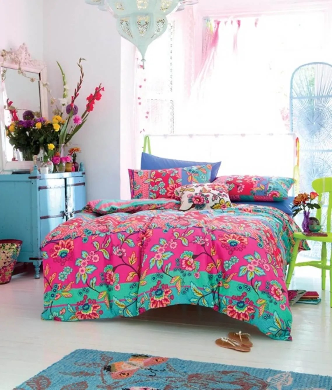8 Bohemian Chic Teen Girl's Bedroom Ideas - https ... on Boho Bedroom  id=49764