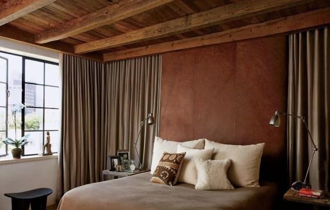 Dark Rustic Bedroom