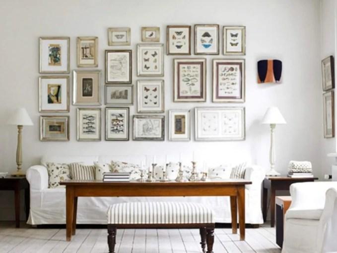 Modern Shabby Chic Living Room