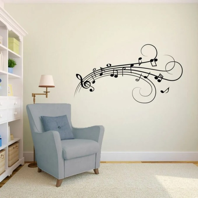 Neat Musical Wall Decal