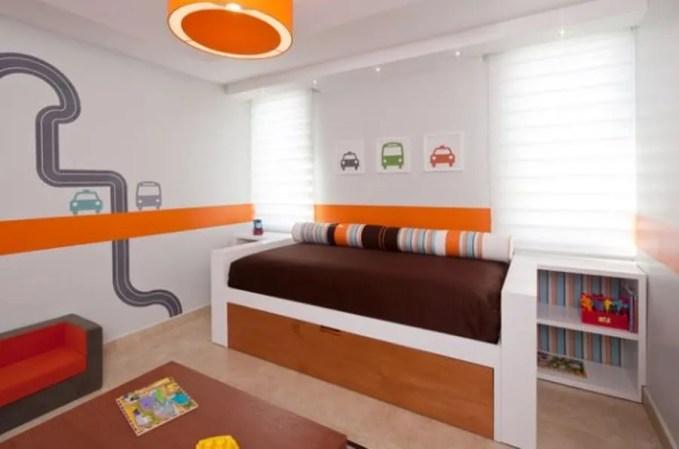 Stylish Trundle Bed with Extra Storage