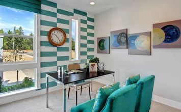 8 Accent Wall Ideas For The Home Office