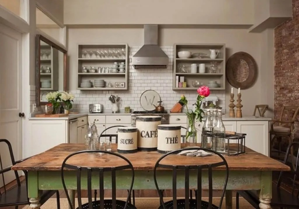 8 farmhouse kitchen design ideas interior idea on industrial farmhouse paint colors id=18619