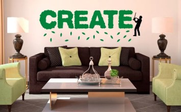 10 Modern Wall Decal Ideas For The Living Room