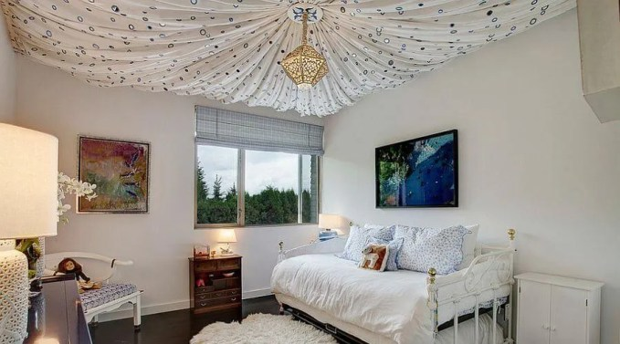 Exotic Ceiling Drapery
