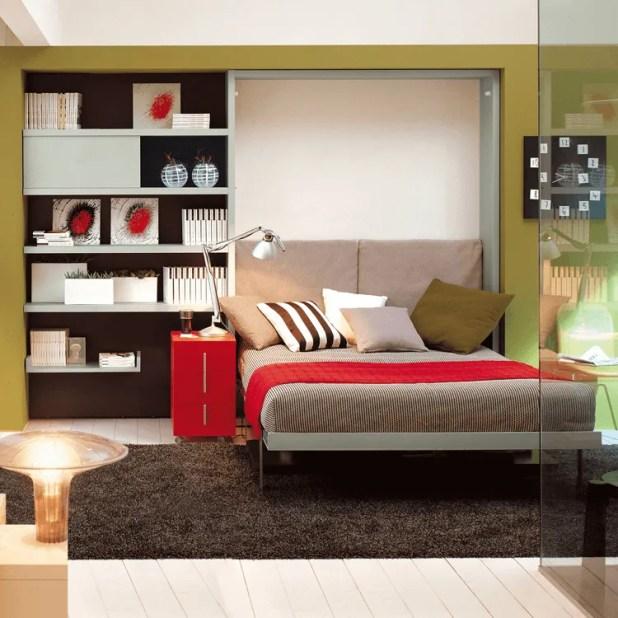 Ulisse-Desk-Bed-Open