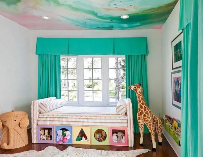 Watercolor Ceiling