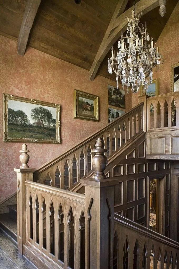 Elegant Stairway Wallpaper