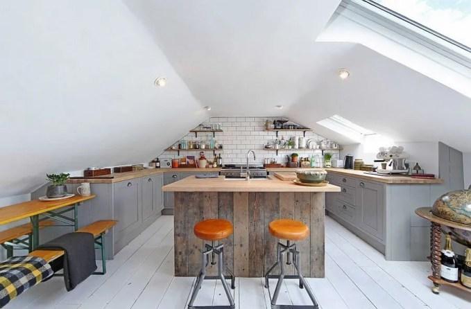 Gorgeous Contemporary Industrial Kitchen Design