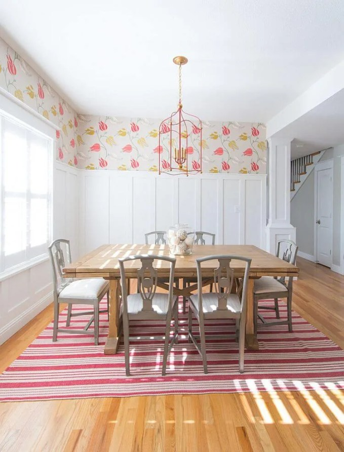 Sweet Chic Farmhouse Dining Room