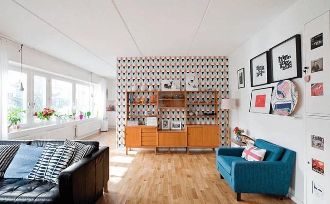 Scandinavian Summer Living Room