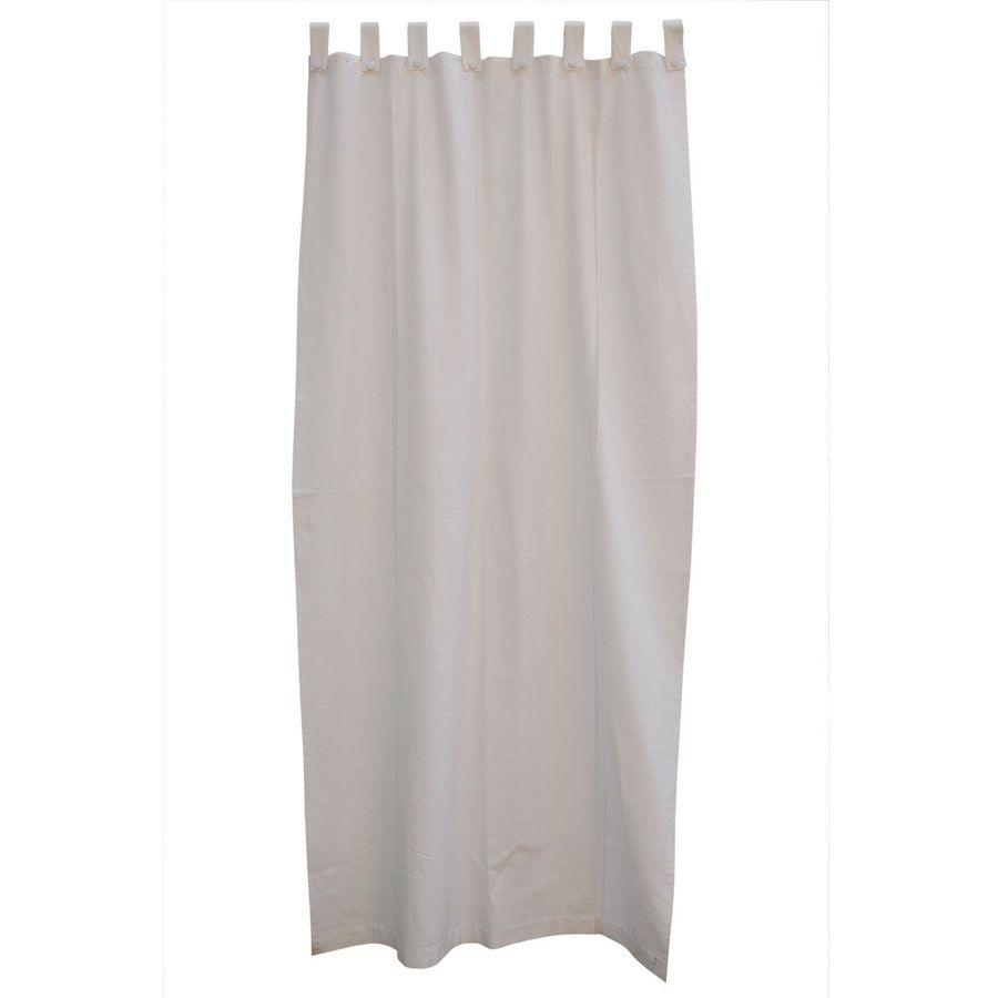 rideau blanc dentelle