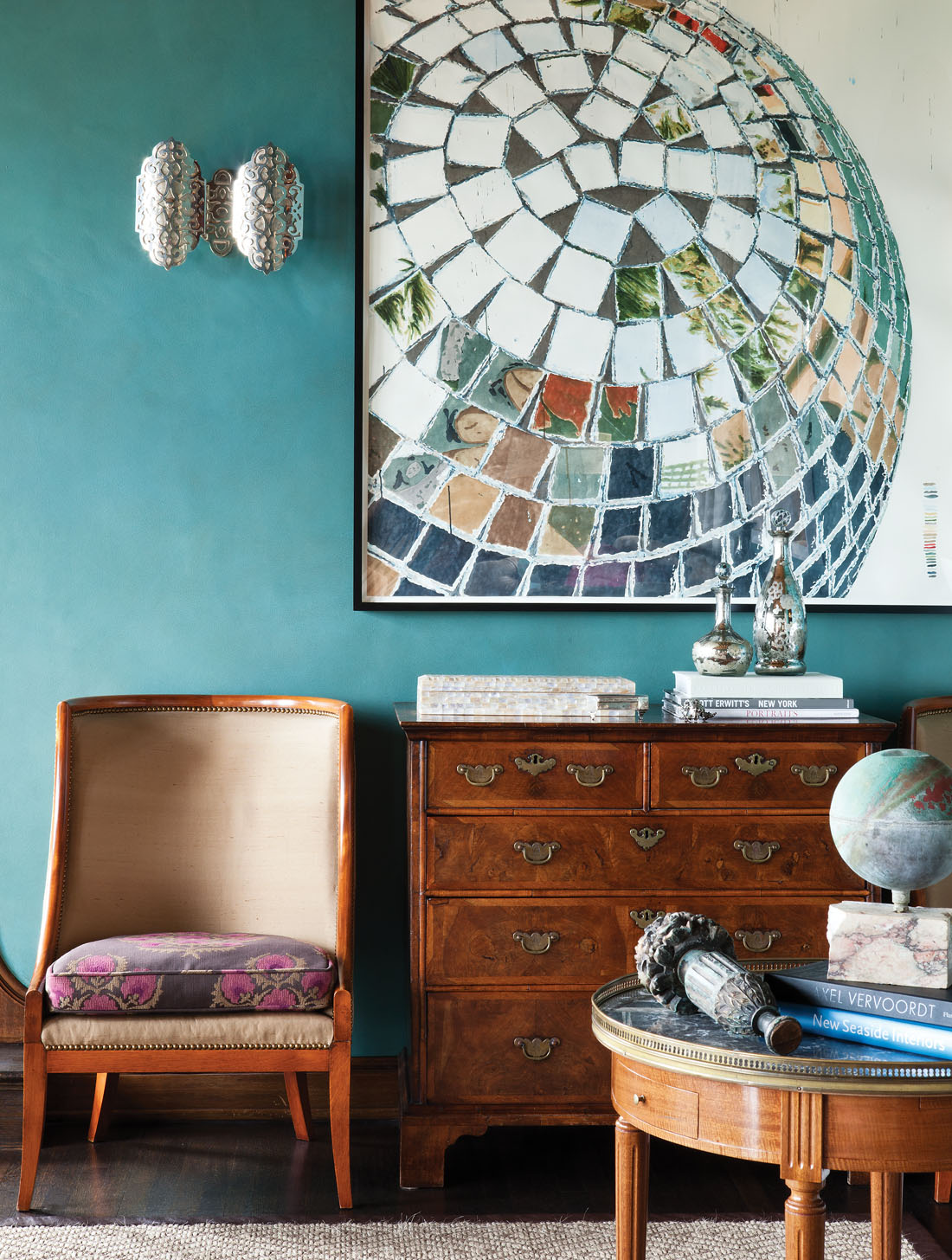 Decorating Purple And Turquoise