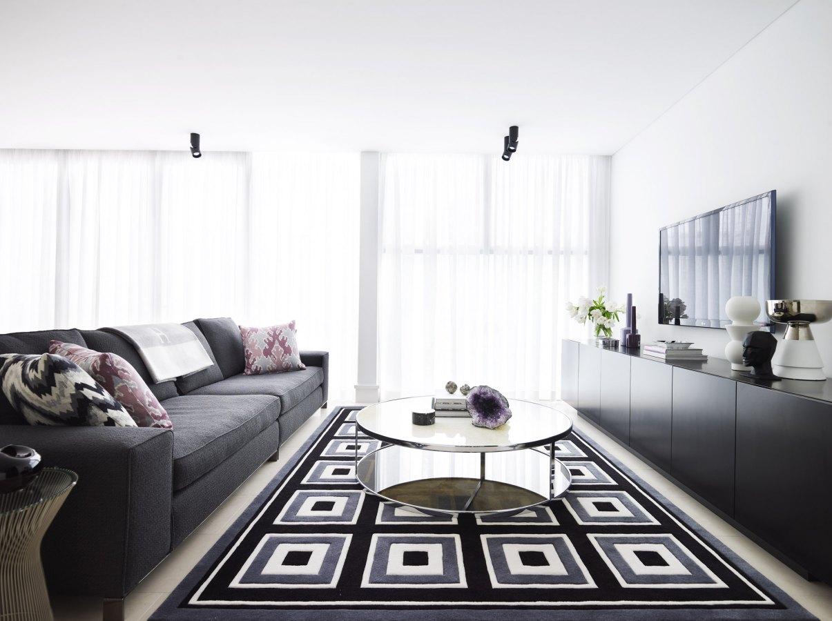 Modern Black Grey And White