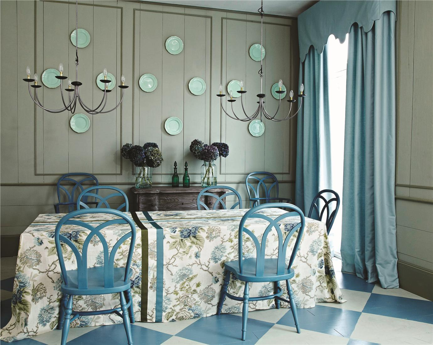 Cook S Blue And Strong White Interiors By Color