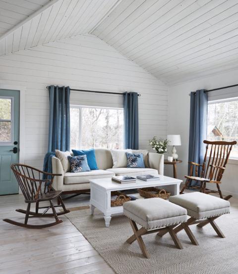 Charming Tiny Farmhouse Interiors By Color