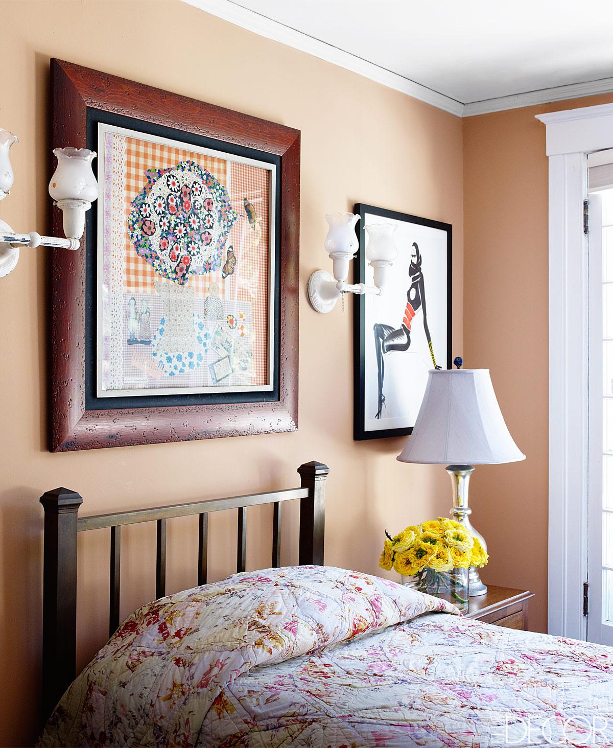 Bedroom Painted In Farrow Amp Balls Dutch Pink Interiors
