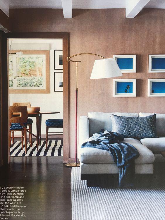 Peter Dunham La Elle Decor Usa March 2016 Interiors By