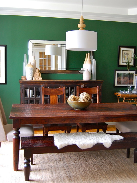 Kelly Green Interior Decor And Paints Interiors By Color