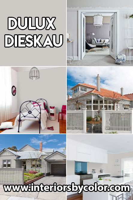 Dulux Dieskau Paint Color Ideas Interiors By Color