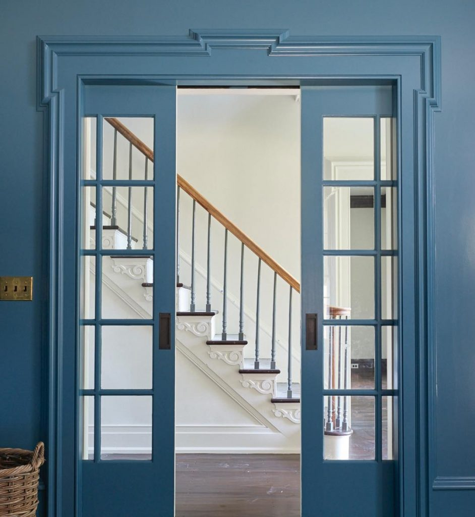 Benjamin Moore Bella Blue Interiors By Color