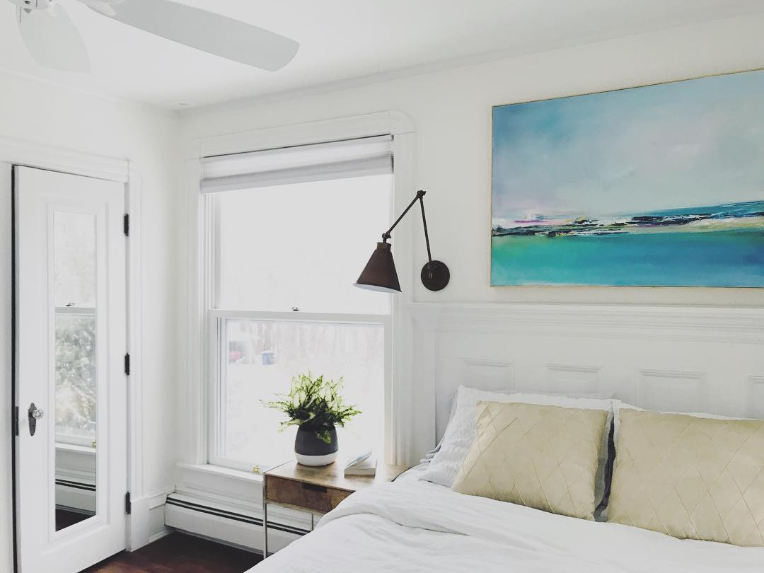 Benjamin Moore Simply White Paint Color Schemes